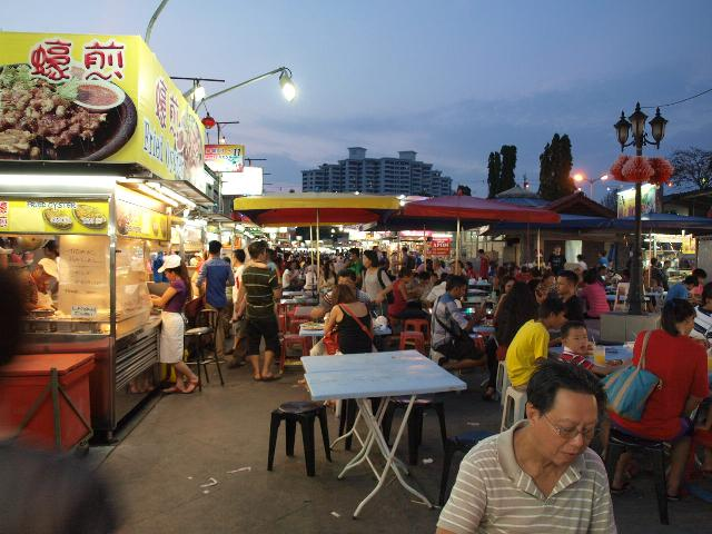Gurney parade night market