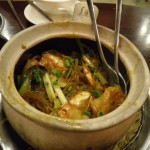 Prawn hot pot