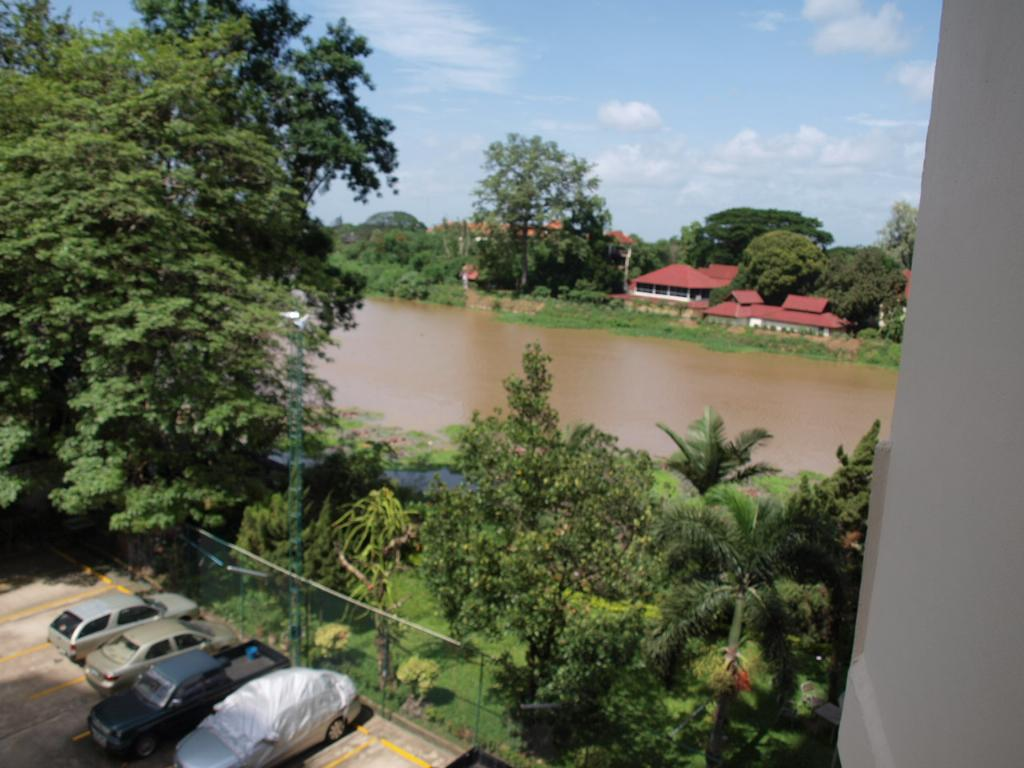 Ping river from balcony