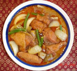 Khmer Red Curry