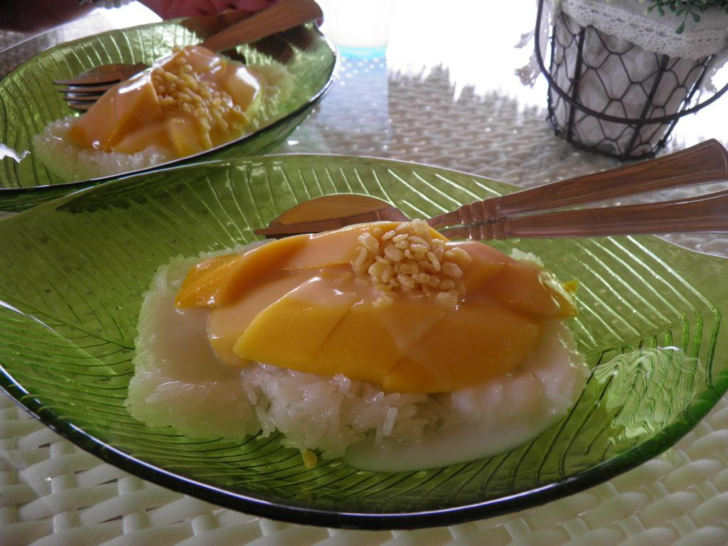 Mango & sticky rice