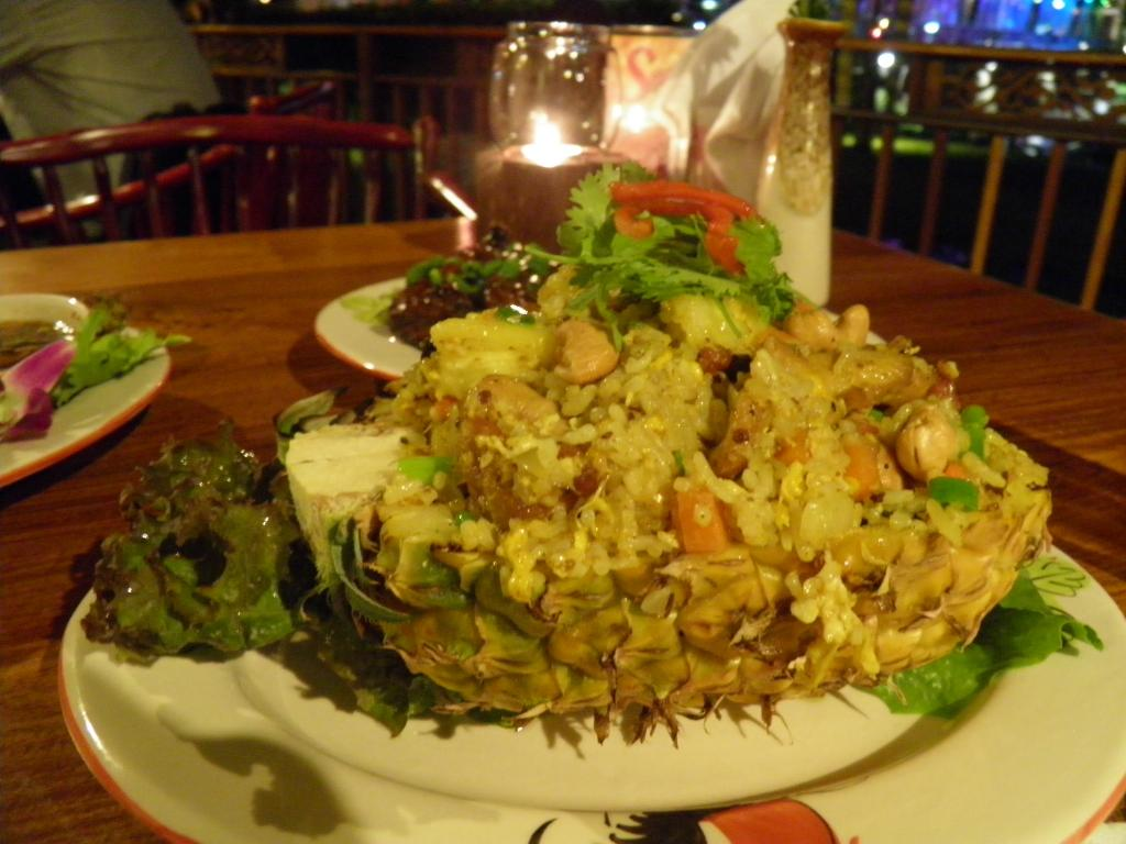 River Market Restaurant Pineapple rice