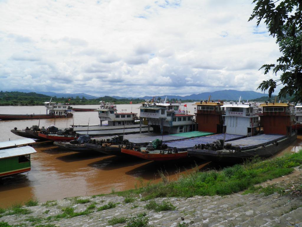 Mekong barges