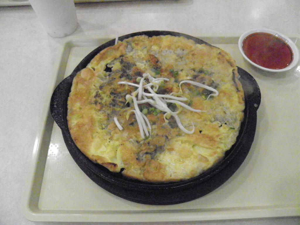 Mussell omelette