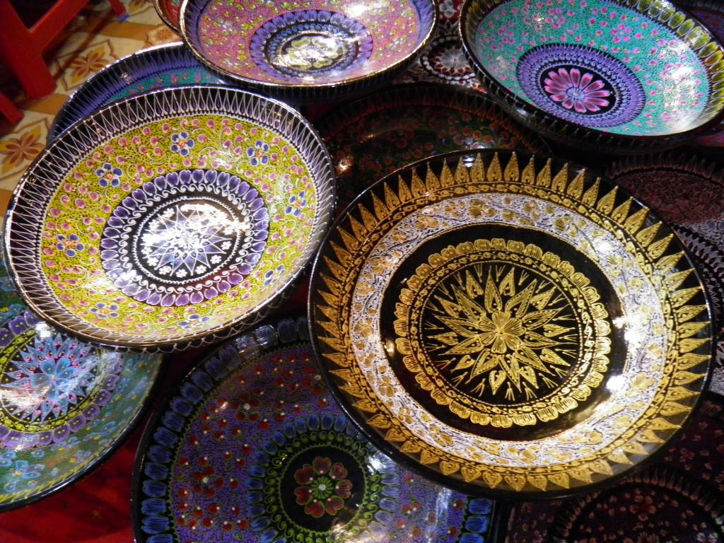 Decorated bowls